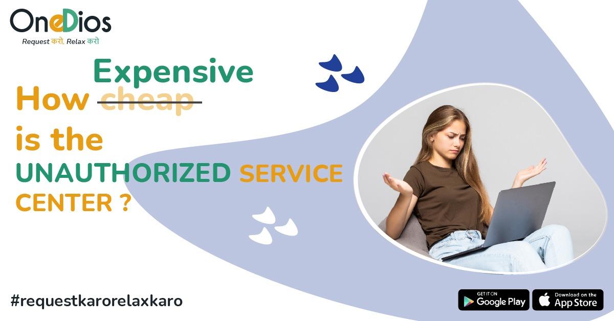 unauthorized service