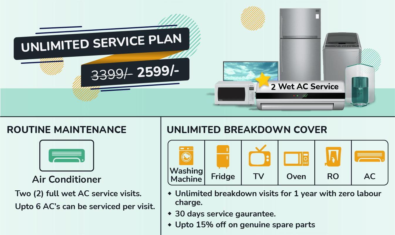Unlimited Service Plan